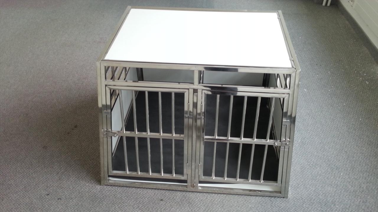 doppelbox transportbox f r hunde xxl voco tiere. Black Bedroom Furniture Sets. Home Design Ideas
