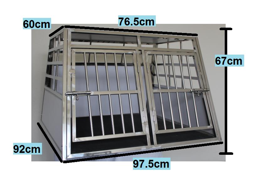 doppelbox hundetransportbox xxl voco tiere. Black Bedroom Furniture Sets. Home Design Ideas
