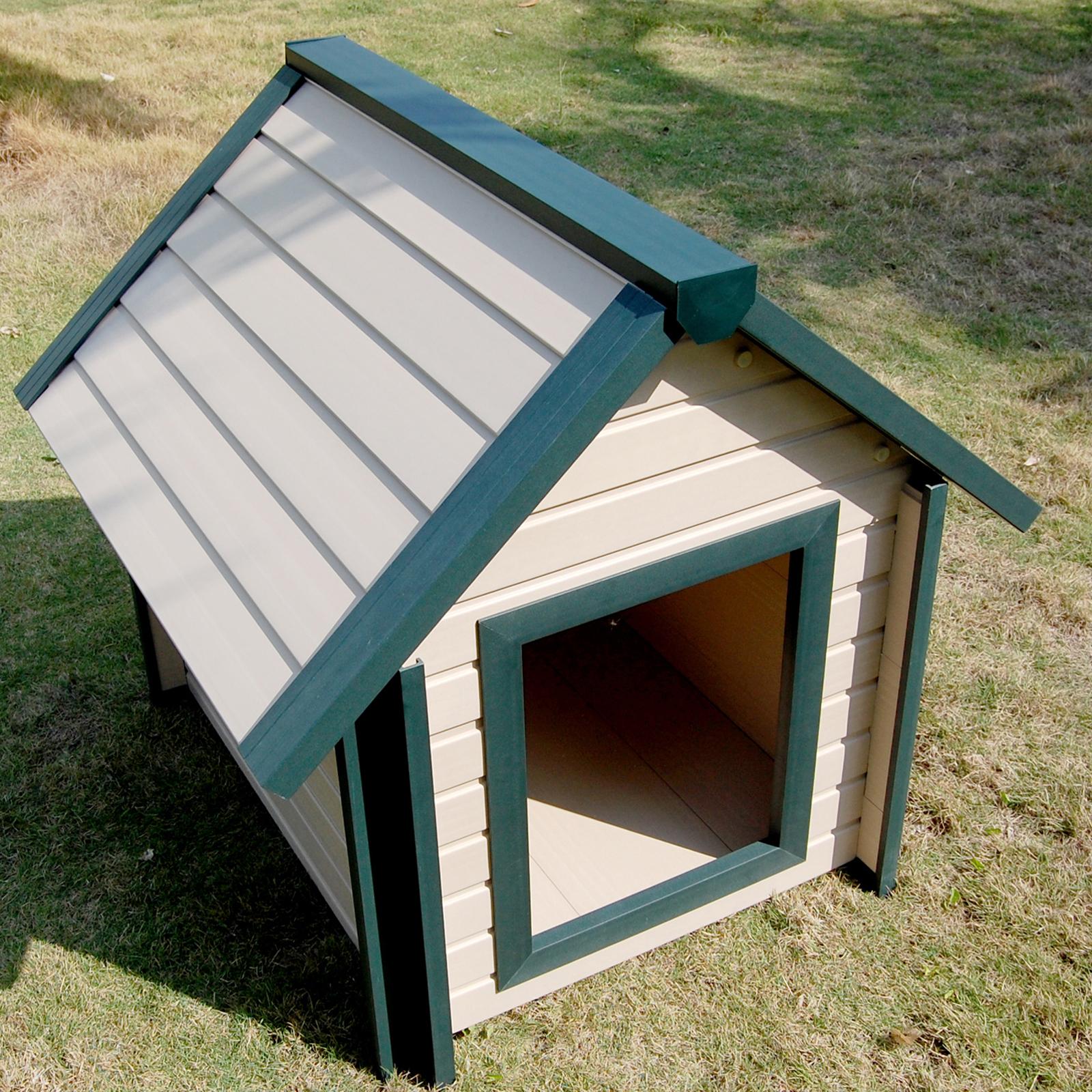 Sehr grosse Ecoflex Hundehütte aus 100% Recyclingmaterial