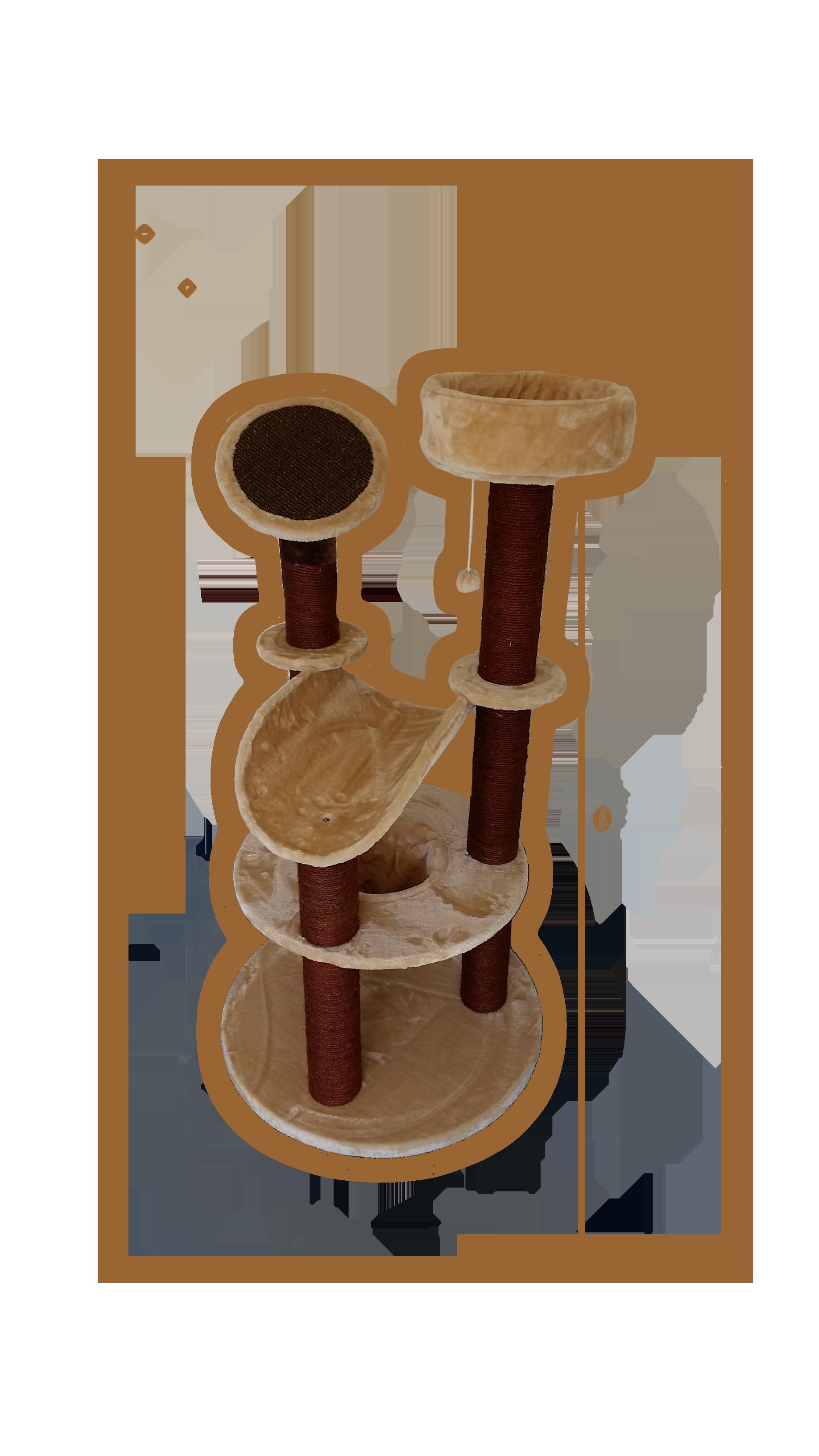 Premium Katzenbaum Kratzbaum für GROSSE und SCHWERE Katzen