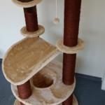Premium Katzenbaum für GROSSE und SCHWERE Katzen