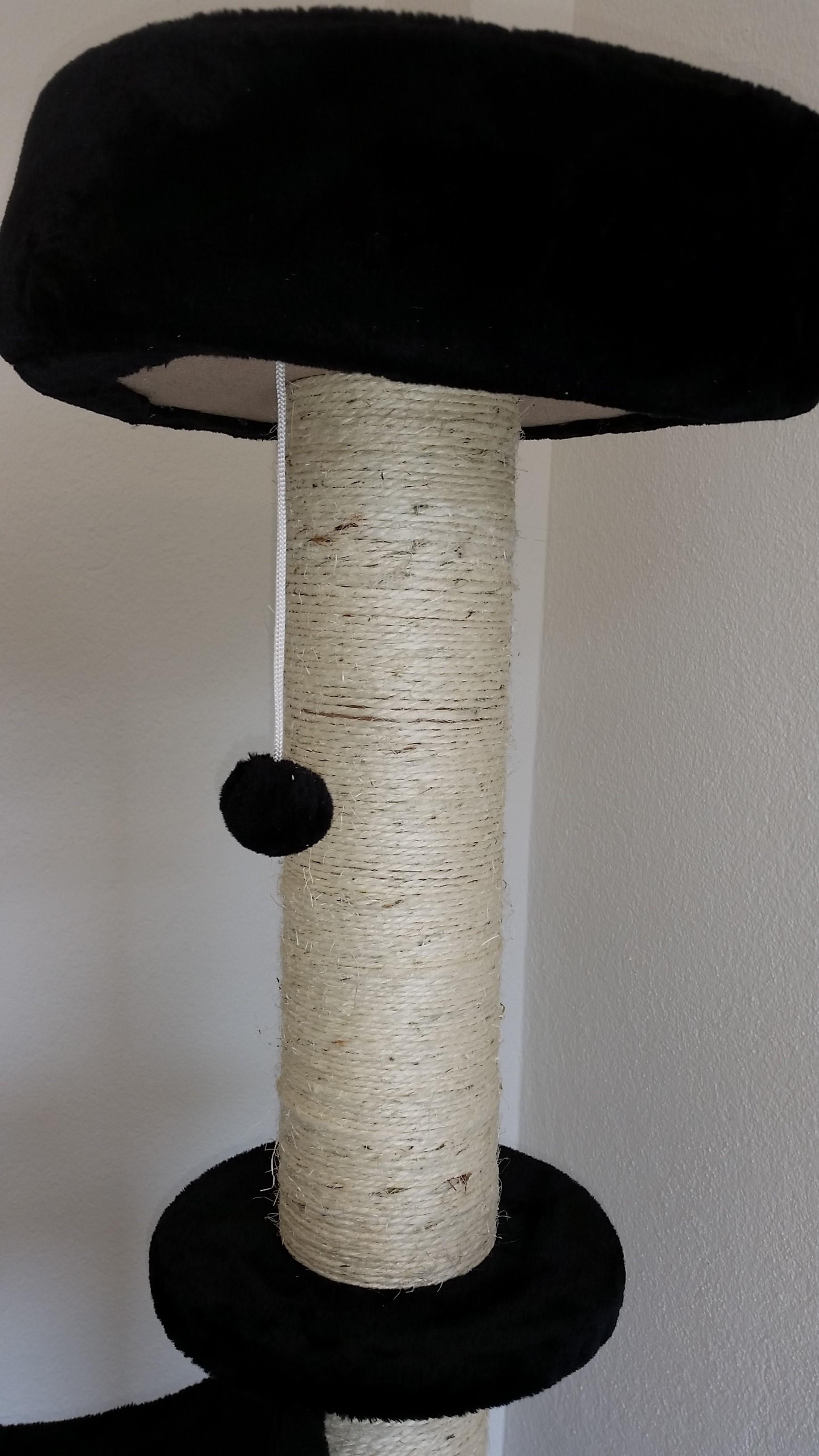 kratzbaum, katzenbaum de-luxe (1.52m) - voco tiere