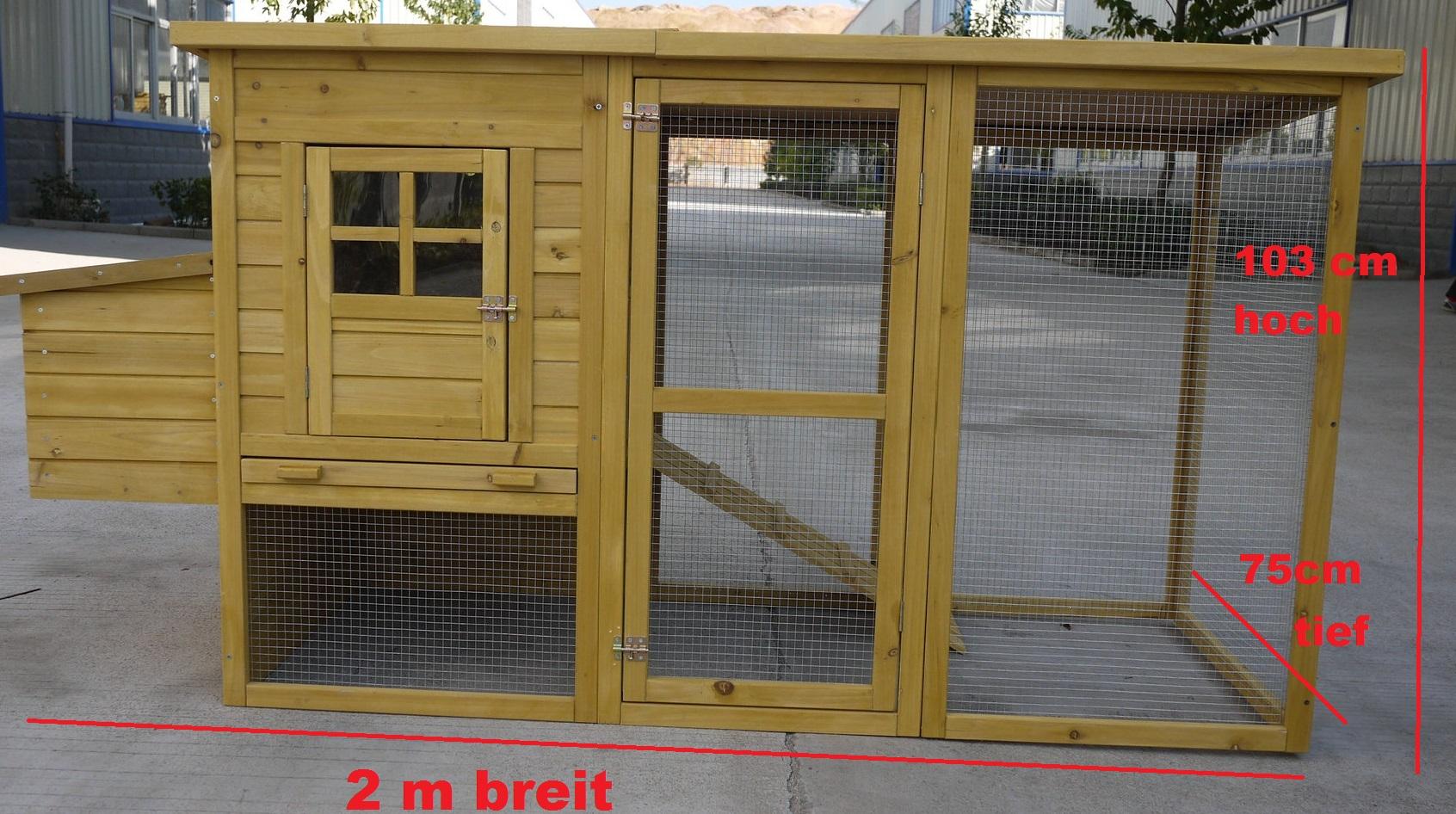h hnerhaus h hnerstall hasenstall kaninchenstall c198 voco tiere. Black Bedroom Furniture Sets. Home Design Ideas